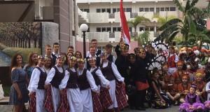 Tautiniai lietuvių šokiai pristatyti Maroke