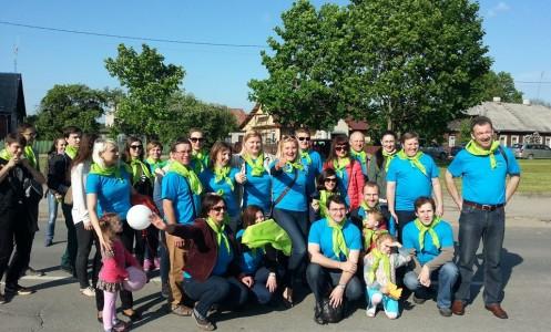 Veiklios bendruomenės darbai puošia Širvintų miestą