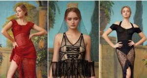 """""""Londono madų savaitėje"""" pristatyta lietuvės kolekcija alsuoja ispaniška aistra ir uždrausta meile"""