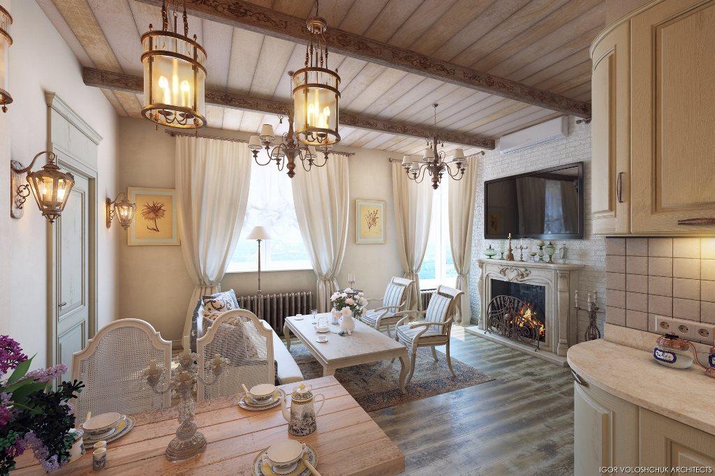 Prancūziško stiliaus namai