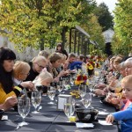 Pažaislyje – rekordinis 100 metrų sveiko maisto stalas