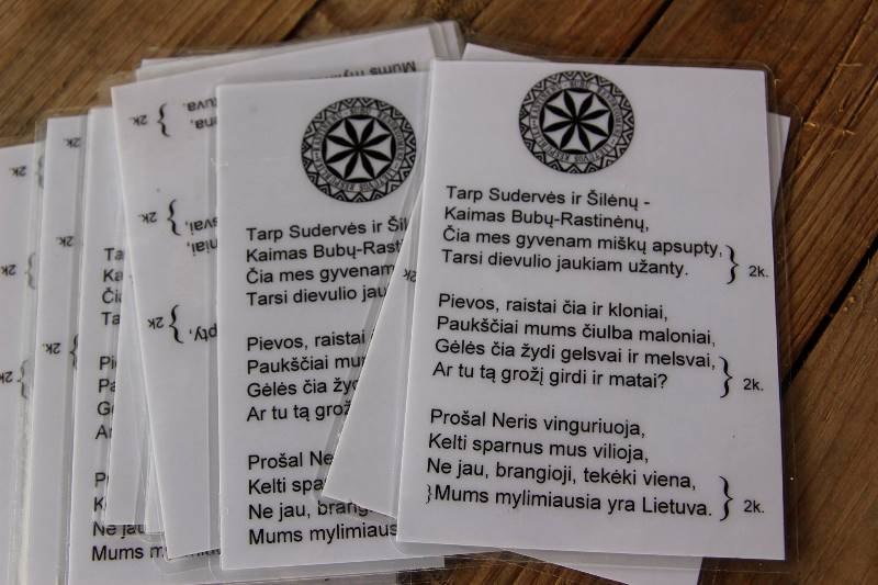 Rastinėnų-Bubų himnas