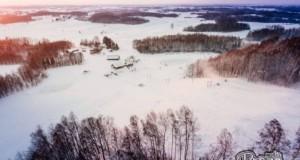 Atidaryta pirmoji slidinėjimo trasa Tauragės apskrityje
