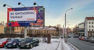 Vilniaus gimtadienio proga vilniečiams – netikėta Kauno dovana