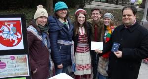 Čikagos Naujųjų metų sutikimo šventėje pristatyti ir lietuviški papročiai