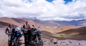 """Aplink pasaulį motociklais keliaujantys lietuviai: """"Kiekviena šios kelionės diena mums kaip šventė"""""""