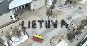 Lietuvos vardą parašė per 1000 alytiškių