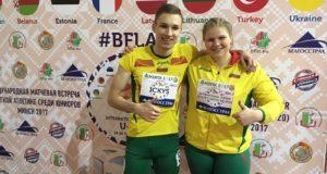 Jaunieji Lietuvos lengvaatlečiai sužibėjo Minske – komandos bronza ir ketvirtas rezultatas pasaulyje