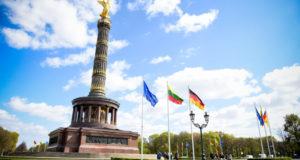 Prezidentė Lietuvos vardu padėkojo Vokietijai