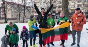NORVEGIJA. Drameno lietuviai originaliai paminėjo Vasario 16-ąją ir Kovo 11-ąją