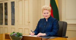 Prezidentė pasirašė vaikų saugumą užtikrinančias įstatymų pataisas