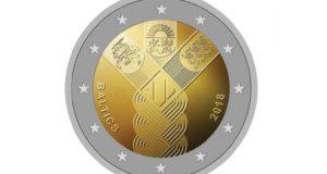 Išrinktas bendros Baltijos šalių monetos dizainas