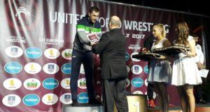 Mantas Knystautas – Europos jaunimo imtynių vicečempionas
