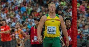 Disko metikas Andrius Gudžius pasiekė antrą sezono rezultatą pasaulyje