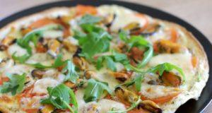 Pica su midijomis ir mocarela