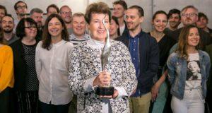 """Dešimtųjų """"Sidabrinės gervės"""" apdovanojimų nominantai susirinko į jų garbei surengtus pusryčius"""