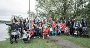 """NORVEGIJA. """"Penki už Lietuvą"""" – ne tik bėgimas, bet ir pilietiškumo ugdymas"""