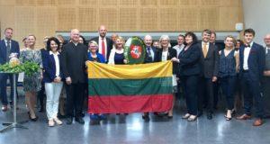 NORVEGIJA. Lietuvos garbės konsulo inauguracija Stavangeryje