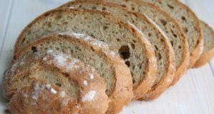 Kiek druskos gauname suvalgę duonos riekę?