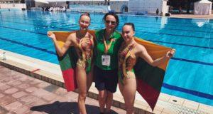 Europos jaunimo čempionate – geriausi rezultatai Lietuvos dailiojo plaukimo istorijoje