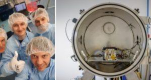 Lietuvos mokslininkai tapo globalaus kosmoso tyrimų projekto dalimi: siekia, kad jų palydovas skrietų ilgiausiai
