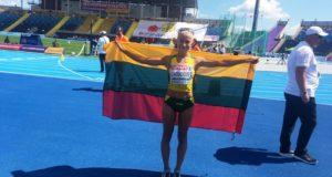 Ėjikė Živilė Vaiciukevičiūtė iškovojo Europos iki 23 metų čempionato bronzos medalį