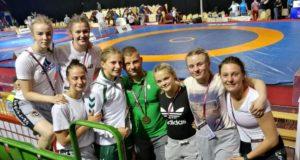 Imtynininkė Kamilė Gaučaitė iškovojo Europos jaunių čempionato bronzą