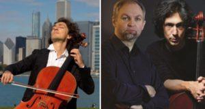 """Violončelininkas iš JAV Ianas Maksinas: """"Muzikos kalba neturi sienų"""""""