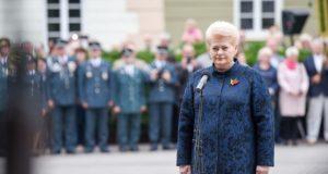 Prezidentės sveikinimas šalies žmonėms Valstybės dienos proga