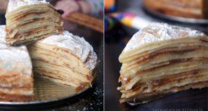 Citrininis blynų tortas