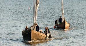 Jūros šventės metu Dangėje – senieji lietuviški laivai ir… vestuvės