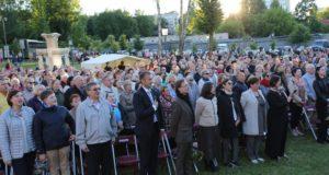Tarptautinio Chaimo Frenkelio vilos vasaros festivalio atidarymas subūrė Šiaulių bendruomenę