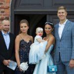 Dainininkės Gabrielės Rutkauskienės dukrelės krikštynos – lyg iš pasakos