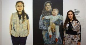 Lietuvių menininkės Lauros Guokės darbai pristatomi Londone