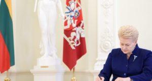 Lietuva stiprina savo indėlį kovoje su terorizmu