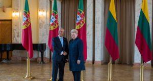 Su Portugalijos Prezidentu aptartos glaudesnio šalių bendradarbiavimo galimybės