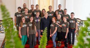 """Sugrįžusius """"Misijos Sibiras"""" dalyvius Prezidentė pakvietė pusryčių"""