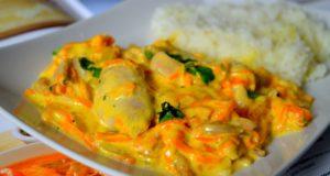 Vištiena morkų padaže