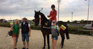 Pirmąją Europos čempionato dieną Lietuvos raitelė R. Petravičiūtė neturėjo sau lygių