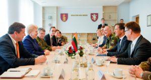 """Prezidentė: """"Nyderlandai – vienas pagrindinių mūsų saugumo partnerių"""""""