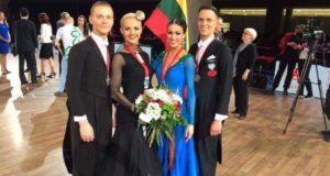 Lietuvos šokėjams – penkios poros medalių iš prestižinių varžybų Vokietijoje
