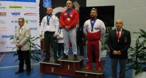 Lietuvos atstovui – Europos čempionato sidabras