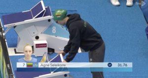 Pasaulio jaunimo plaukimo čempionate 17-metė A. Šeleikaitė – šešta