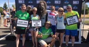 Lietuvių suburta komanda ketvirtą kartą dalyvavo žymiausioje Oregono maratoninėje estafetėje