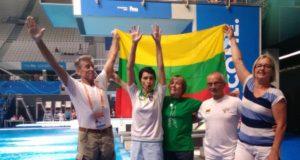 Šuolių į vandenį pasaulio čempionate – 8 medaliai