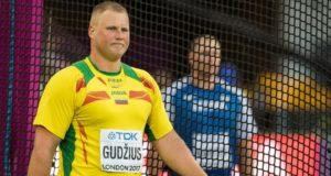 Andriui Gudžiui – pasaulio lengvosios atletikos čempionato auksas