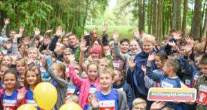 """70 tūkst. šalies vaikų pasiryžo dalyvauti """"Solidarumo bėgime"""""""