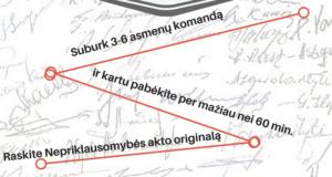 """Nauja kultūrinė pramoga Kražiuose – """"Tarpukario Lietuvos"""" pabėgimo kambarys"""