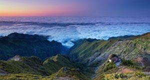 Grožiu kerinti Madeira stebina net daug mačiusius keliautojus