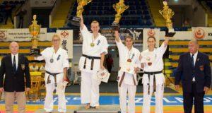 Lietuvos kiokušin karatė kovotoja – Europos taurės varžybų čempionė